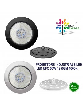 PROIETTORE INDUSTRIALE LED  LED UFO 50W 4250LM 4000K