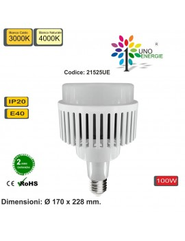 LAMPADINA LED INDUSTRIALE E40 100W.