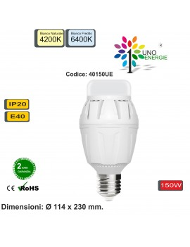 LAMPADINA LED INDUSTRIALE E40 150W